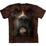 Boxer Face Dieren Shirt