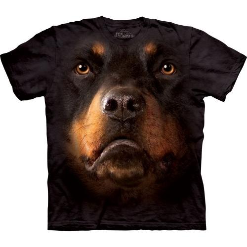 Rottweiler Face Honden Shirt