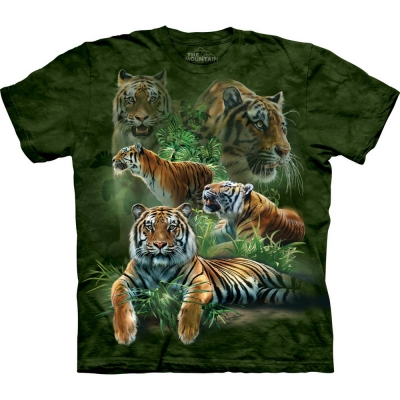 Jungle Tigers Dieren Shirt