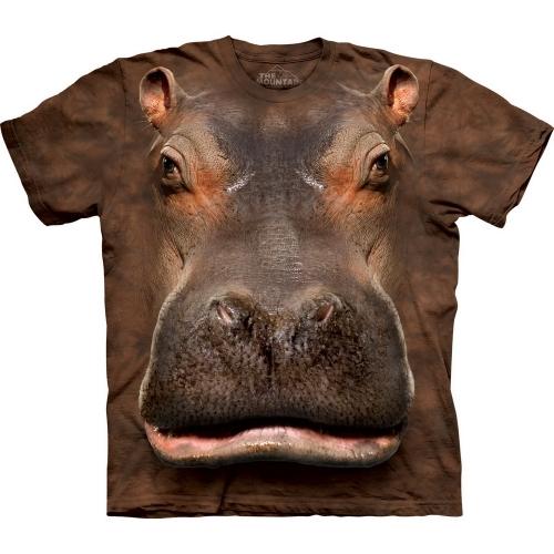 Hippo Head Dieren Shirt