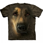 German Shepherd Portrait Honden Shirt