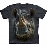 Black Rhino Dieren Shirt