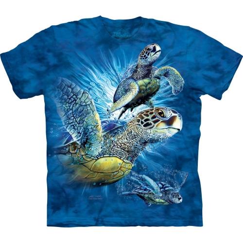 Find 9 Sea Turtles Schildpadshirt