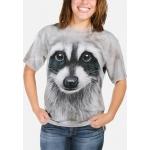 Raccoon Face Dieren Shirt