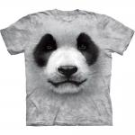 Big Face Panda Dieren Shirt