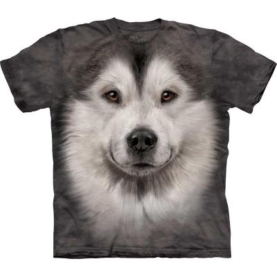 Alaskan Malamute Face Honden Shirt