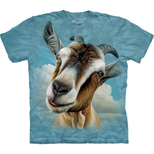 Goat Head Dieren Shirt
