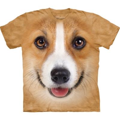 Corgi Face Honden Shirt