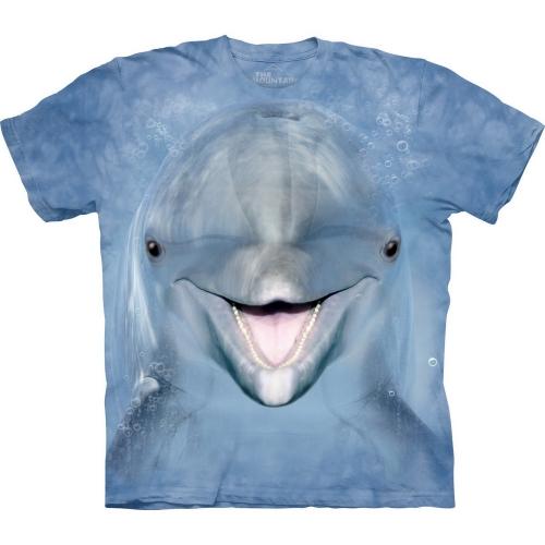 Dolphin Face Dolfijnshirt