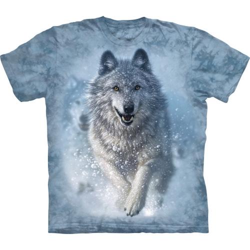 Snow Plow Wolf Shirt