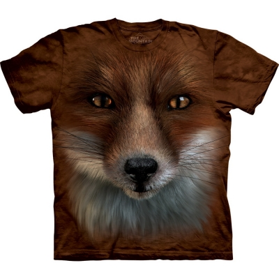 Big Face Fox Dieren Shirt