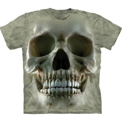 Big Face Skull Fantasy Shirt