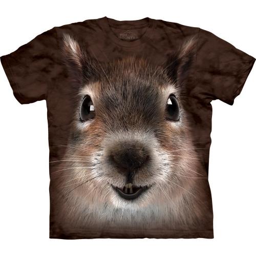 Squirrel Face Dieren Shirt