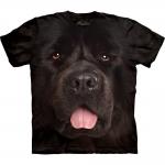 Big Face Newfie Honden Shirt