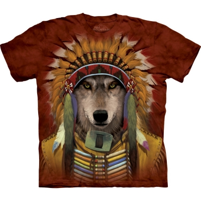Wolf Spirit Chief Shirt
