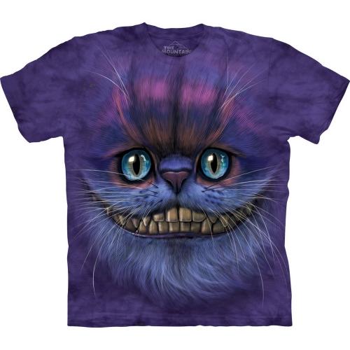 Big Face Cheshire Cat Katten Shirt
