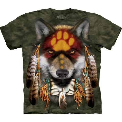 Native Wolf Spirit Shirt