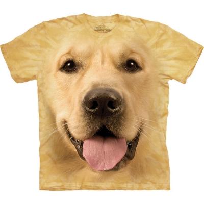 Big Face Golden Honden Shirt