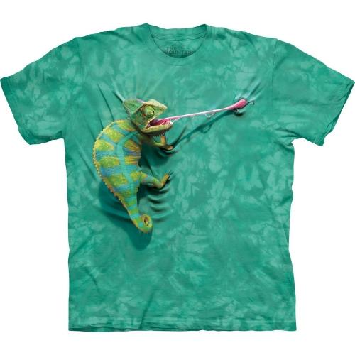 Climbing Chameleon Dieren Shirt