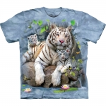 White Tigers Of Bengal Dieren Shirt