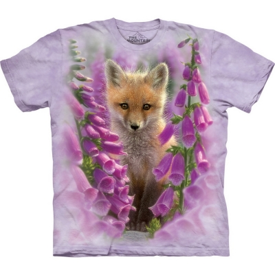 Foxgloves Dieren Shirt