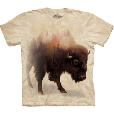 Bison Forest Dieren Shirt