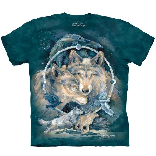 In Spirit I am Free Wolven Shirt