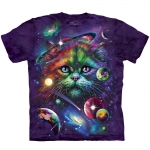 Cosmic Cat Katten Shirt