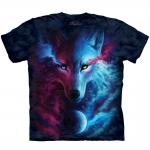 Where Light and Dark Meet Wolven Shirt