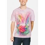 Healing Rose Bloemen Shirt