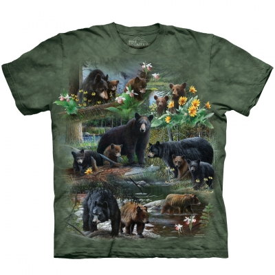Bear Collage Beren Shirt