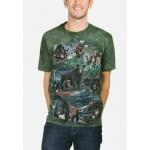 Bear Collage Beren Shirt