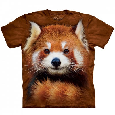 Red Panda Portrait Dieren Shirt