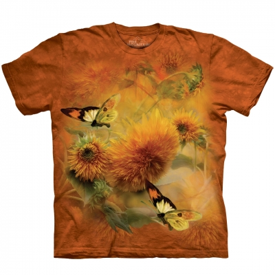 Sunflowers & Butterflies Dieren Shirt