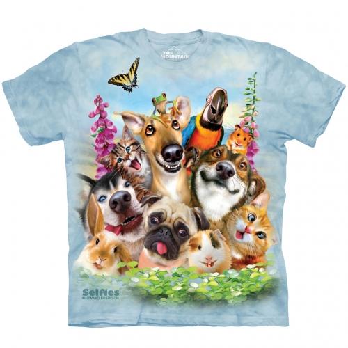 Pet Selfie Dieren Shirt