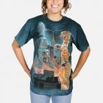 Catzilla vs Robot Fantasy Shirt