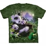 Panda Cuddles Dierenshirt