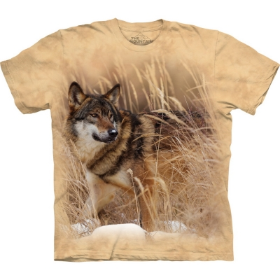 Winter Wolf Portrait Dierenshirt