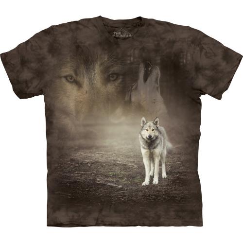 Grey Wolf Portrait Dierenshirt
