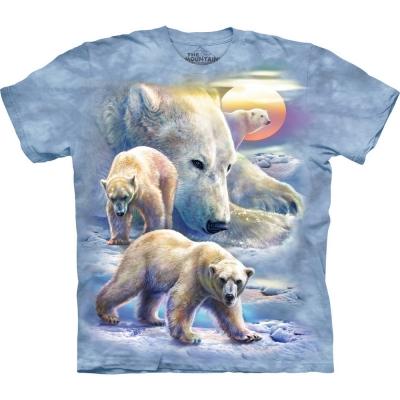Sunrise Polar Bear Dierenshirt