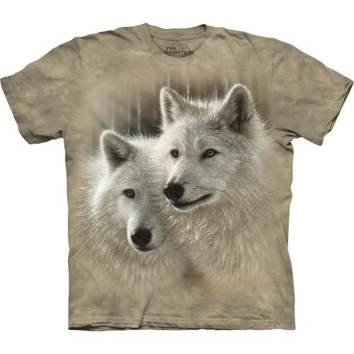 Sunlit Soulmates Wolfshirt