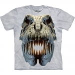 Silver Rex Skull Dinoshirt