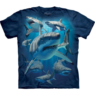 Great Whites Haaishirt