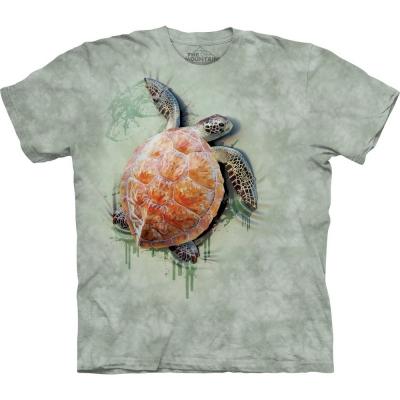 Sea Turtle Climb Schildpadshirt