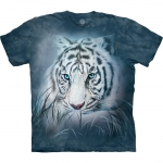 Thoughtful White Tiger Tijgershirt