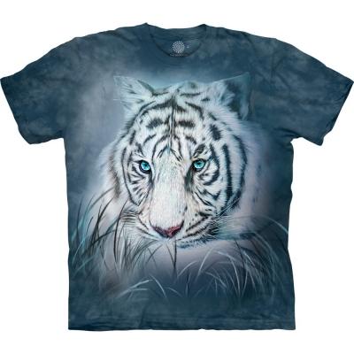 Thoughtful White Tiger Tijgershirt