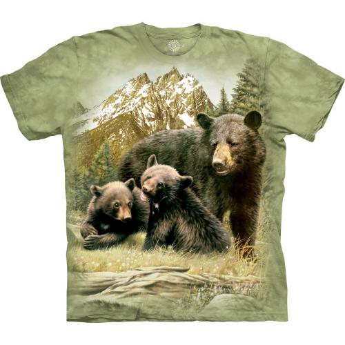 Black Bear Family Berenshirt