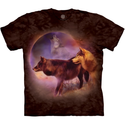 Spirit of the Moon Wolfshirt