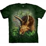 Wild Triceratops Portrait Dierenshirt