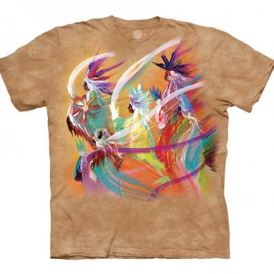 Rainbow Dance Indiaanshirt